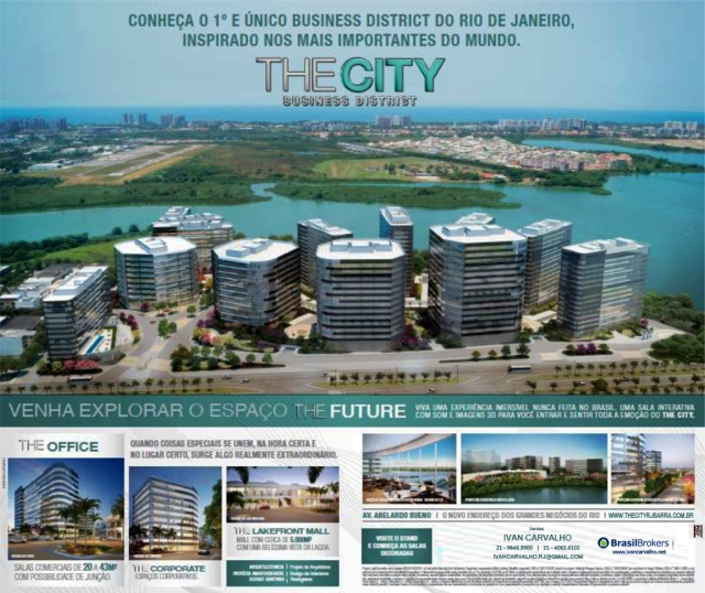 The City Business District | Barra da Tijuca