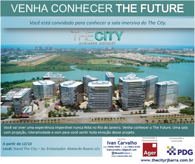 The City Business District | The Future | sala imersiva