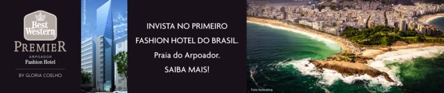 Invista no primeiro fashion hotel do Brasil
