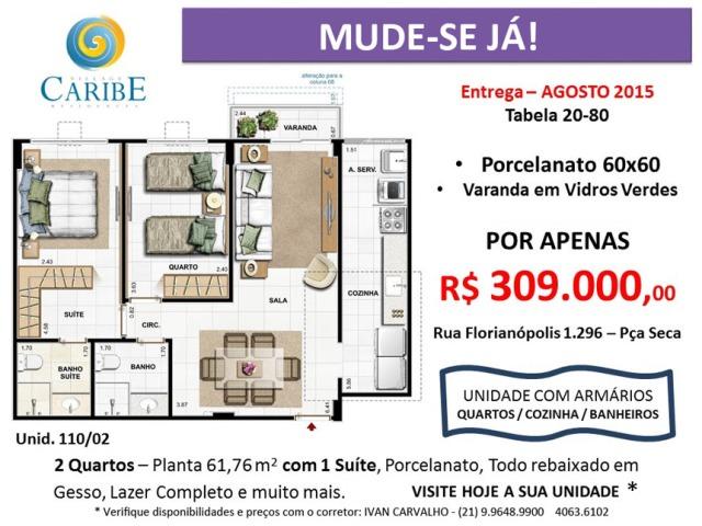 FMAC ENGENHARIA - Apartamentos de 2 quartos em promoção